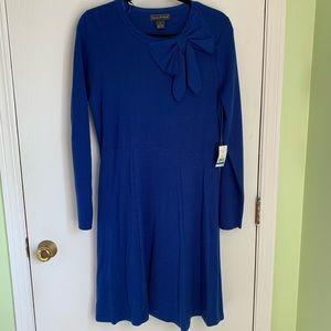 NWT Jessica Howard Sweater Dress w/ bow neck